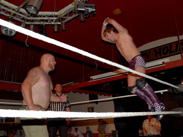 Wrestling at Club Oasis